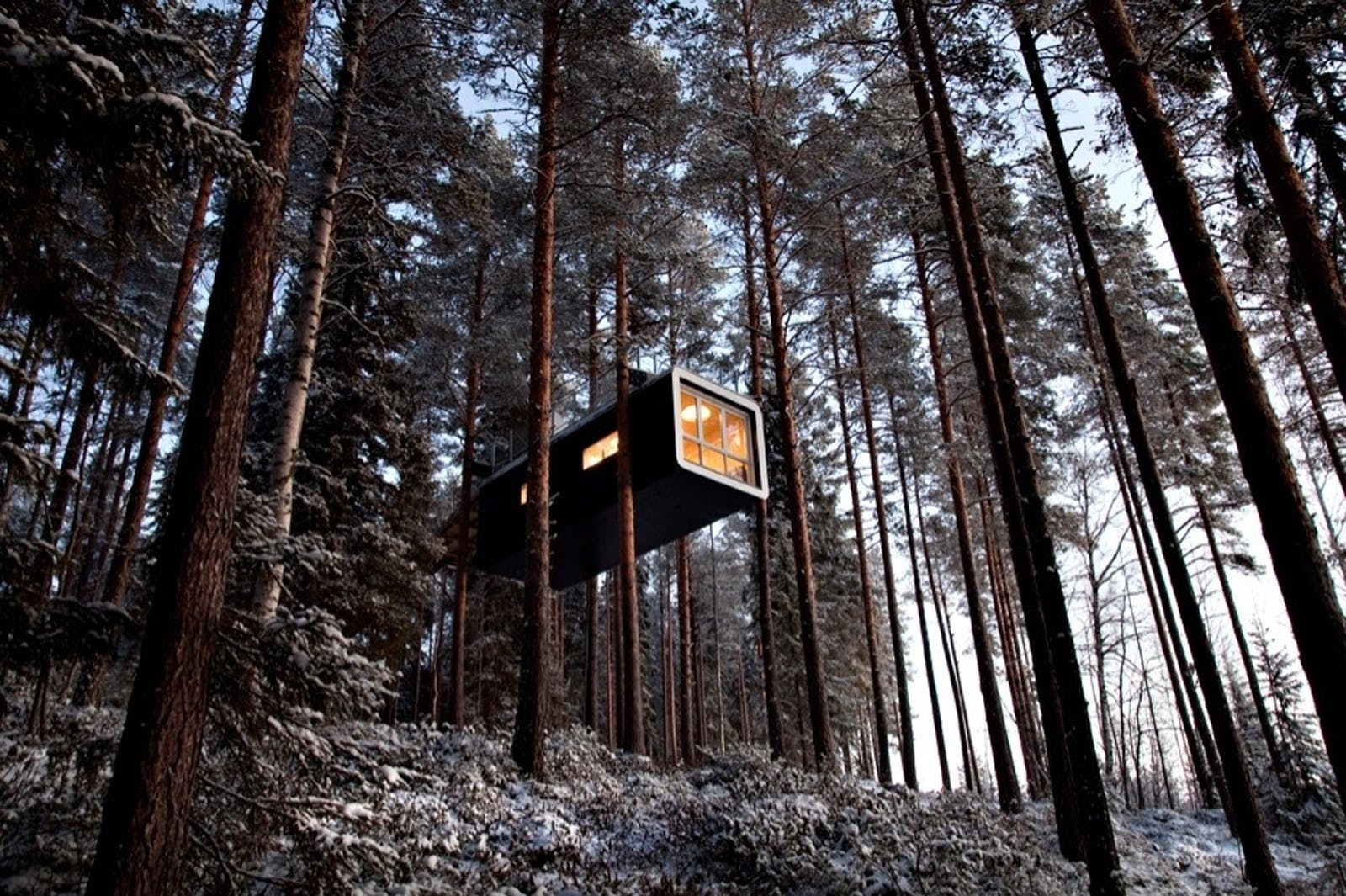 The Cabin, Treehotel, Sweden