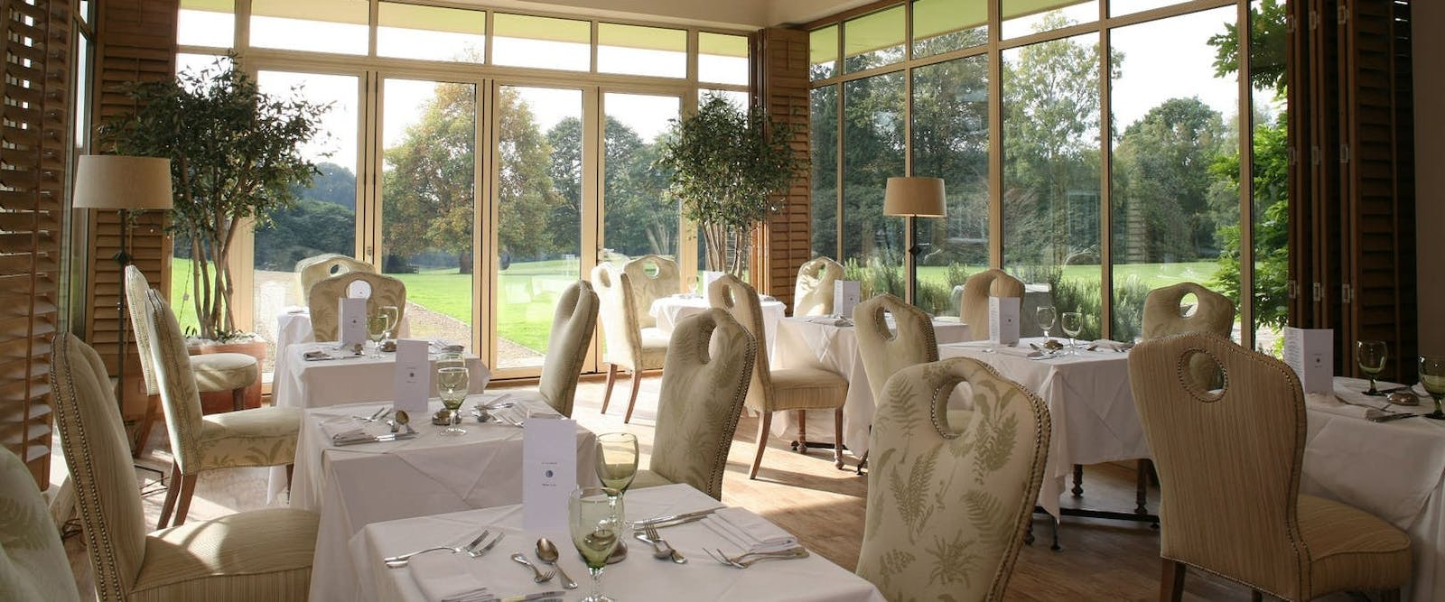 Dining Area at Grayshot Spa, Surrey, England