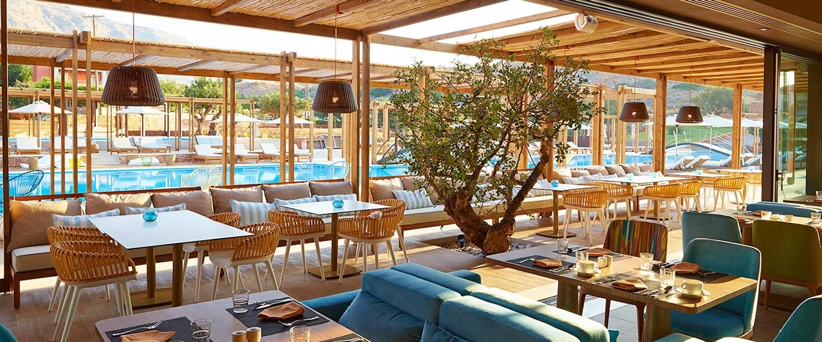 Restaurant at Domes of Elounda, Autograph Collection, Crete, Greece