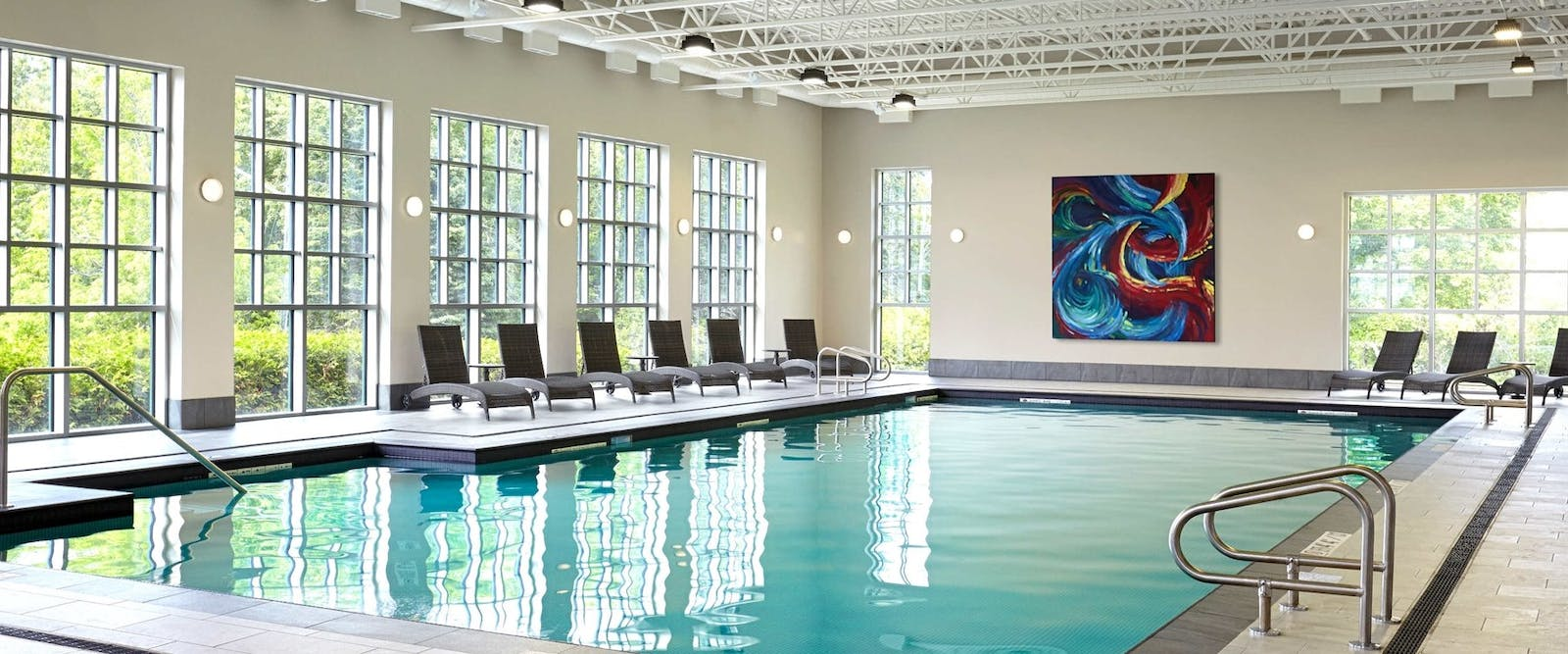 Indoor pool at The Algonquin Resort, St. Andrews