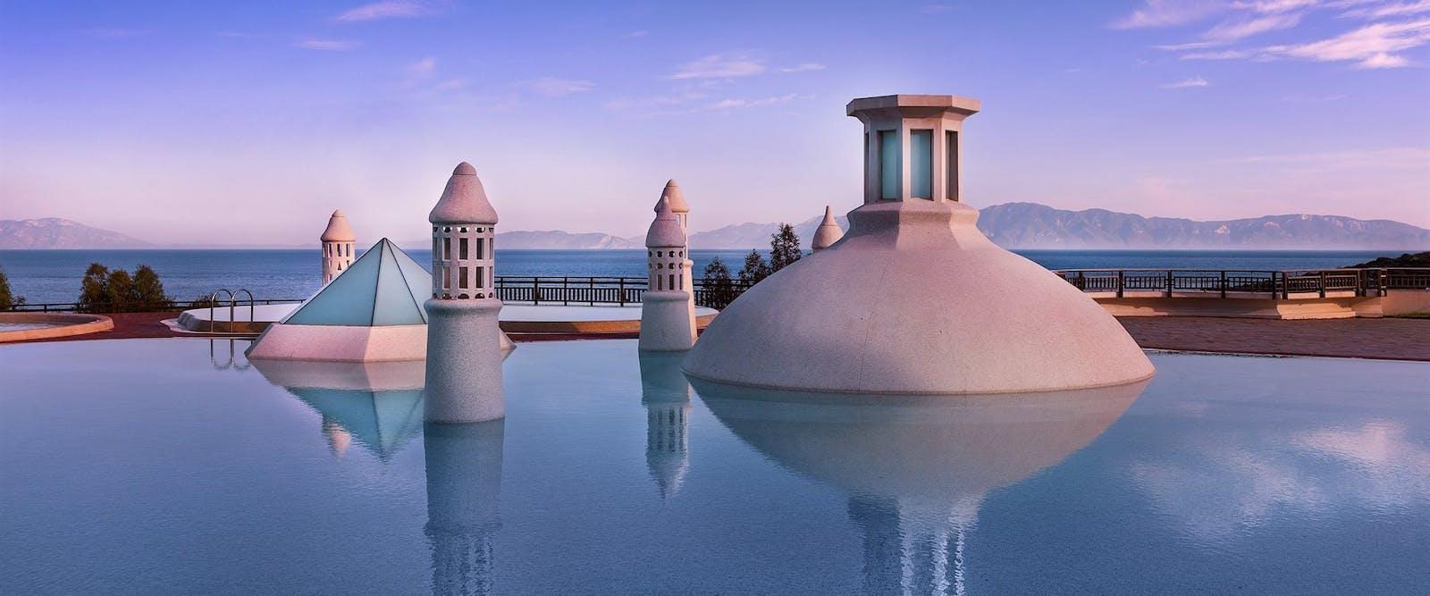 Infinity Pool, Kempinski Hotel Barbaros Bay, Bodrum, Turkey