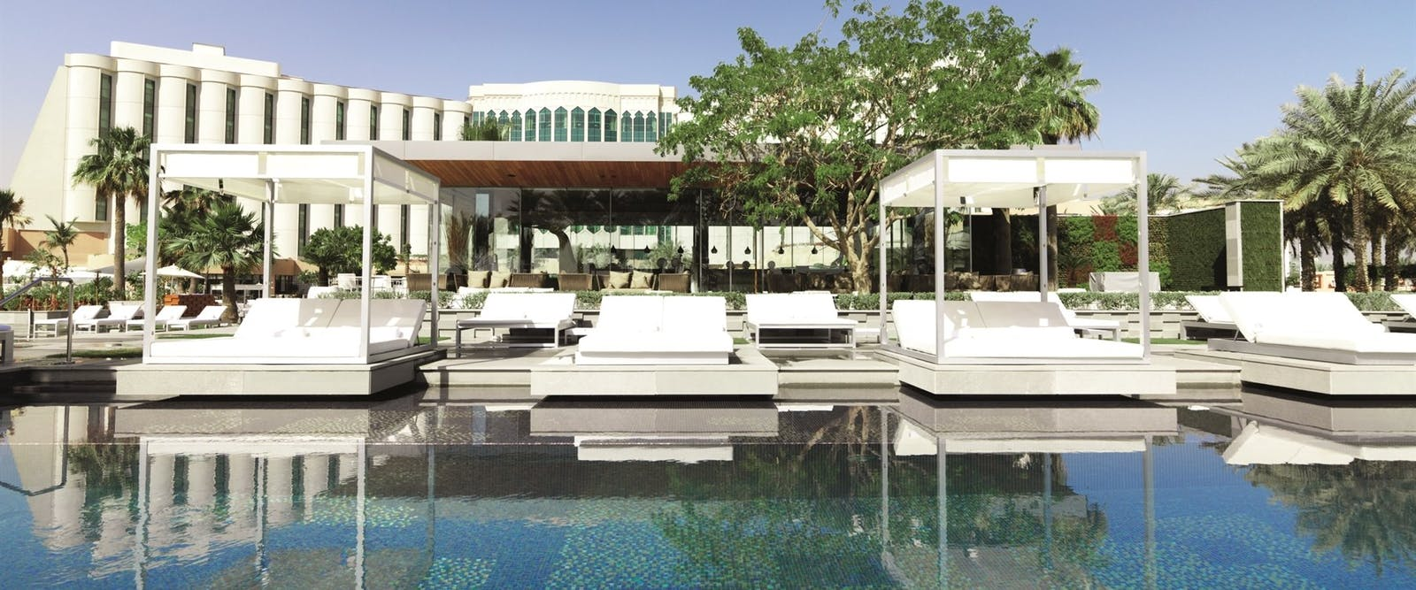 Infinity Pool at The Ritz Carlton Bahrain Hotel Villas and Spa