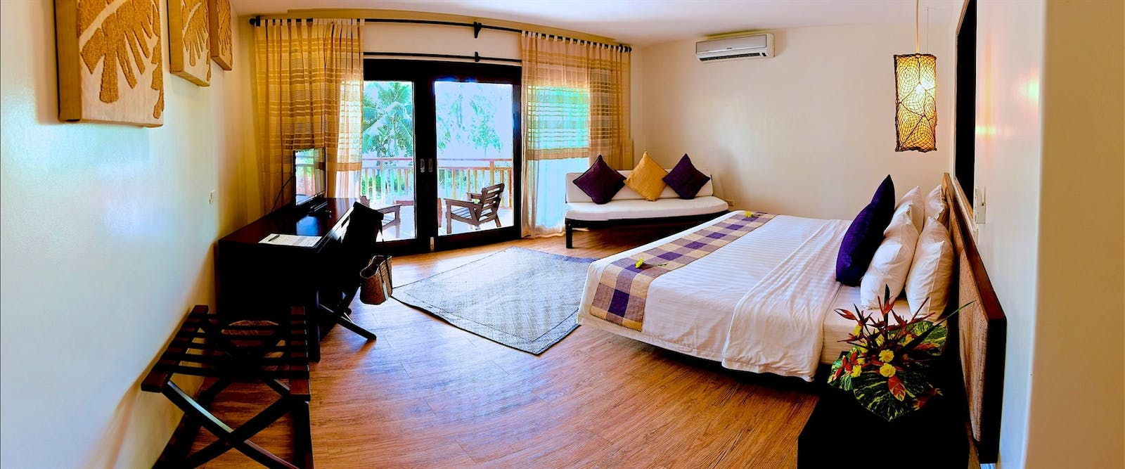 Double Bedroom at Amun Ini Beach Resort & Spa, Philippines