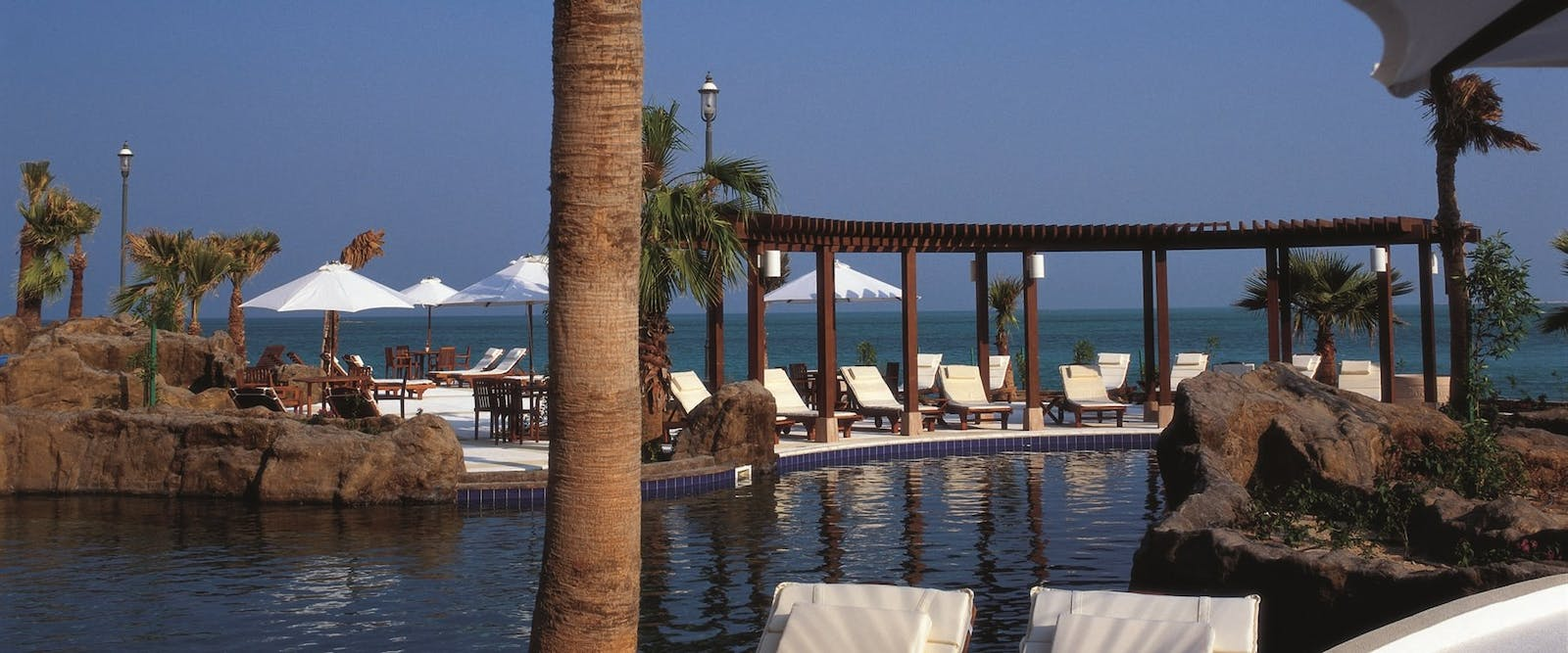 Outdoor Pool at The Ritz-Carlton Doha