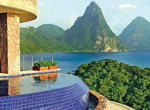 Splendid St Lucia: Jade Mountain