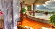 Bedroom with private pool at Jade Mountain, St Lucia