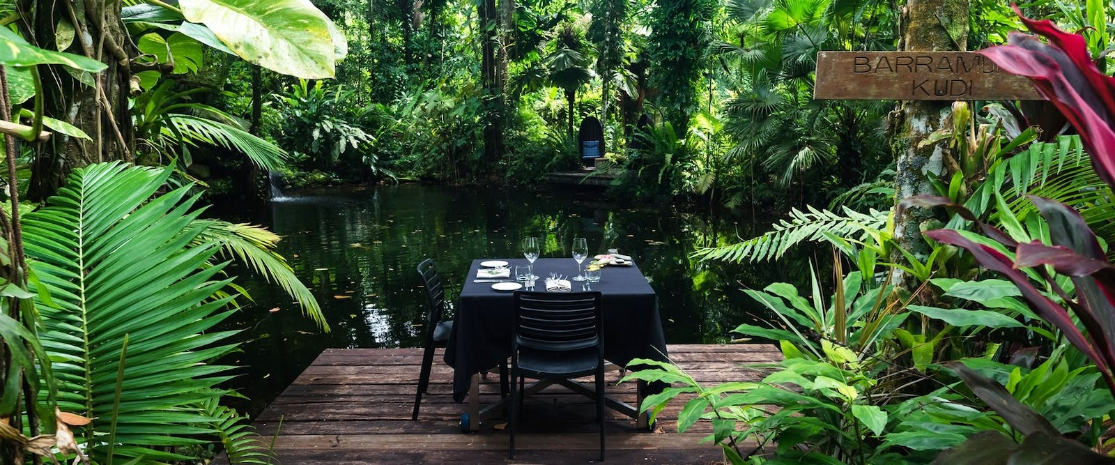 Private dining, Daintree Eco Lodge and Spa