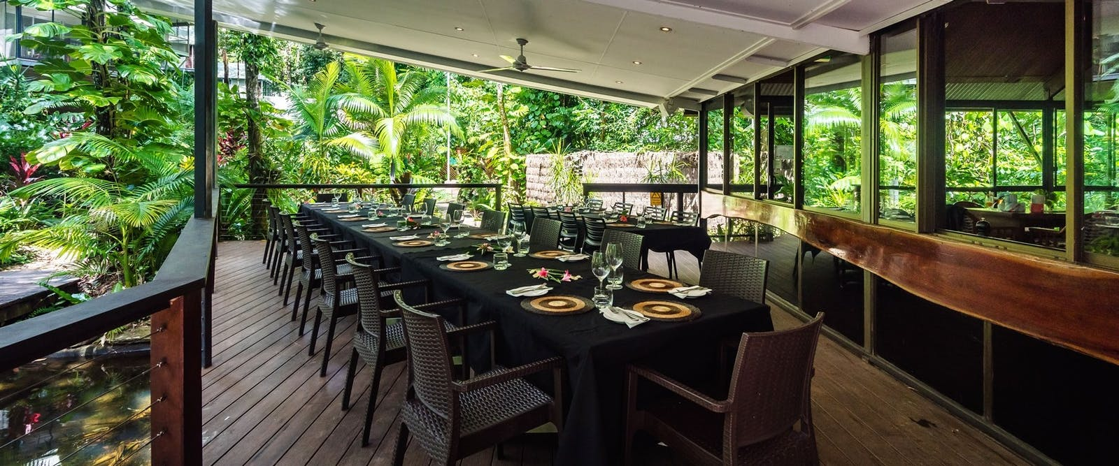 Dining area, Daintree Eco Lodge and Spa