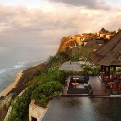 Aerial View of Bvlgari Resort Bali, Southern Bali