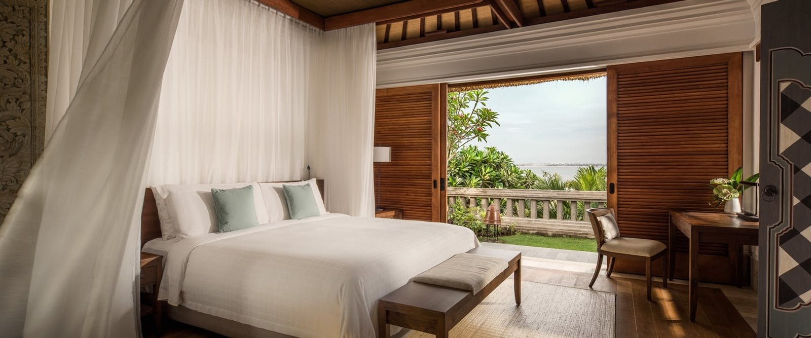 Villa bedroom at Four Seasons Resort Bali at Jimbaran Bay