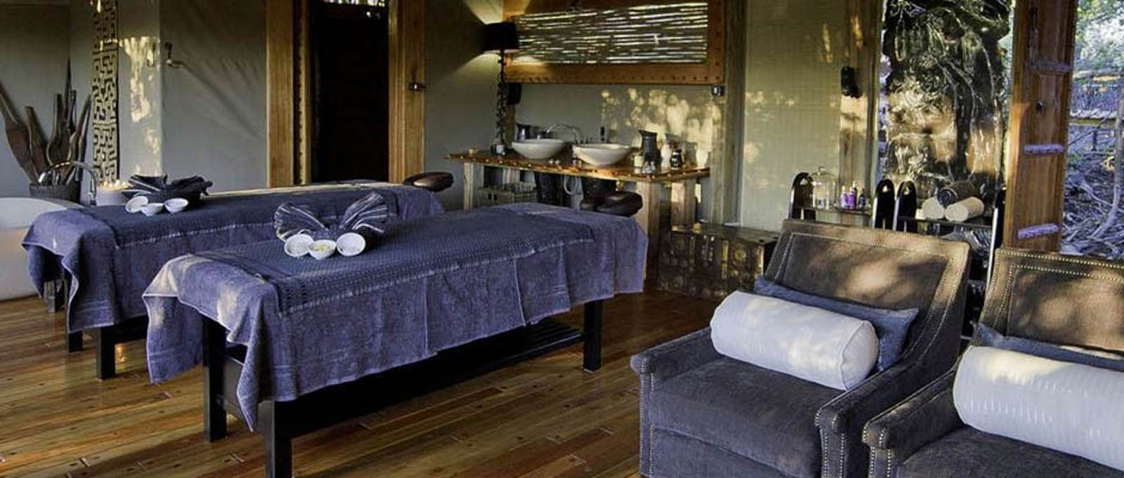Spa at Jao Camp, Botswana