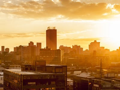 Chobe – Johannesburg - London