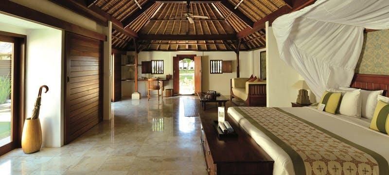 Bedroom at belmond jimbaran puri, Bali