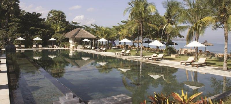 Swimming Pool area at belmond jimbaran puri, Bali