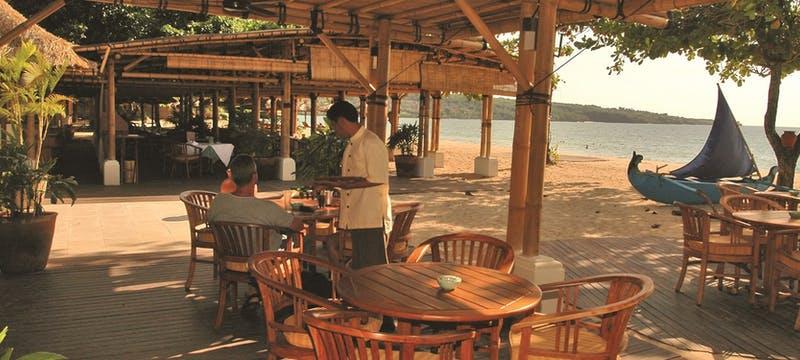 Restaurant at belmond jimbaran puri, Bali