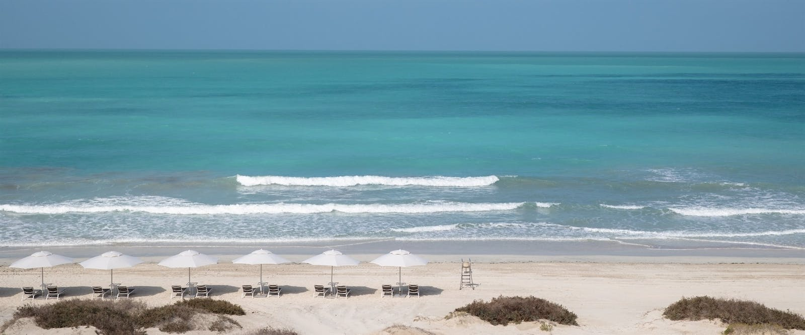 Beach View from Resort at Jumeirah at Saadiyat Island Resort, Abu Dhabi