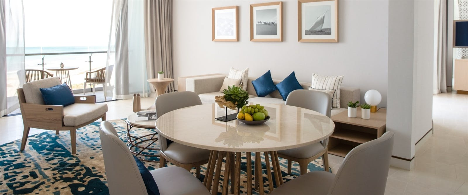 Ocean Suite or Family Suite at Jumeirah at Saadiyat Island Resort, Abu Dhabi
