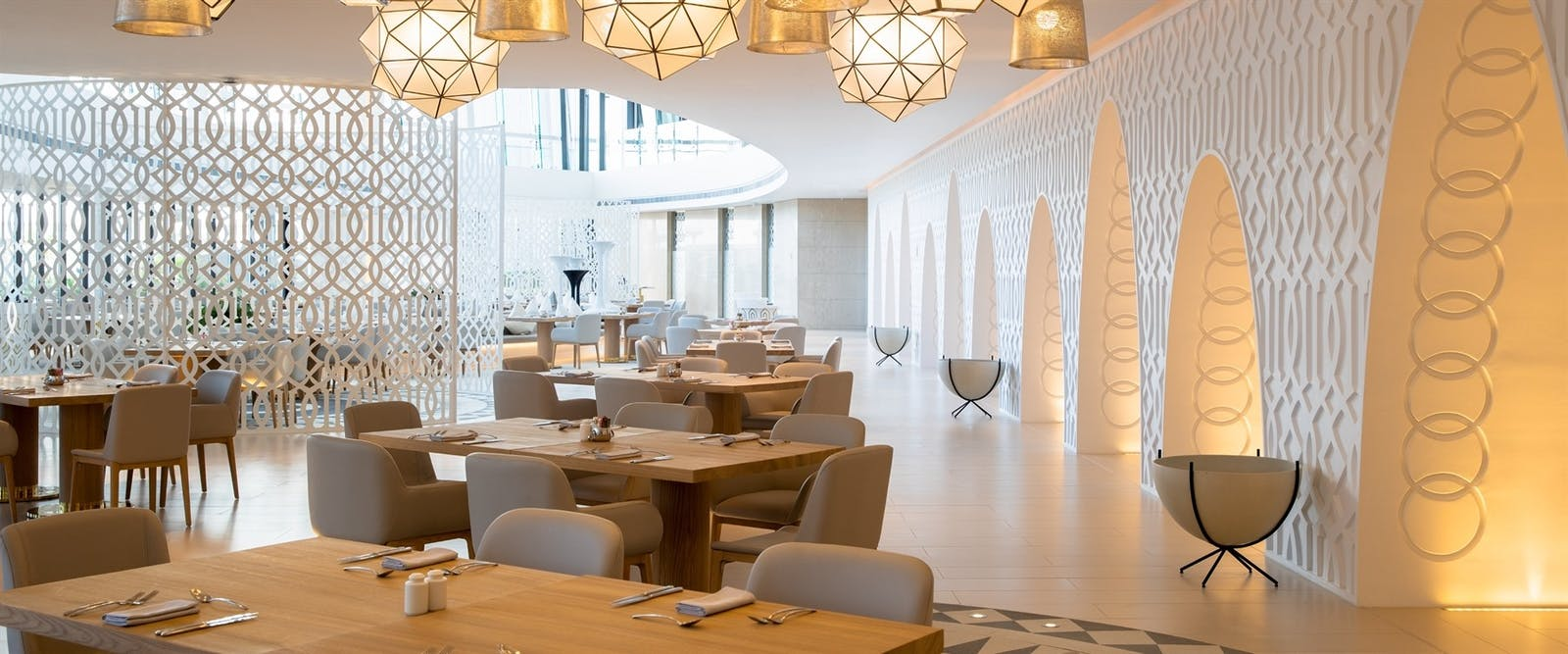 White Restaurant at Jumeirah at Saadiyat Island Resort, Abu Dhabi
