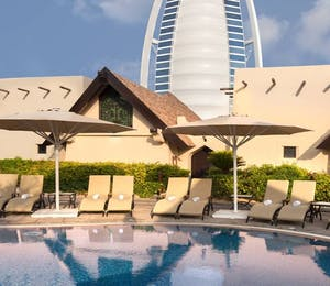 Royal Villas Swimming Pool at Beit Al Bahar Villas, Jumeirah Beach Hotel, Dubai
