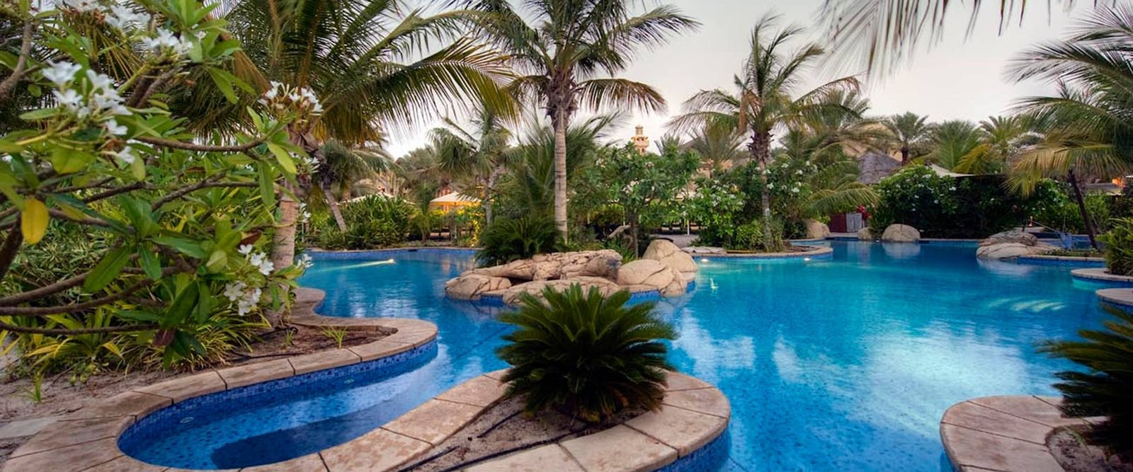 Executive Pool at at Beit Al Bahar Villas, Jumeirah Beach Hotel, Dubai