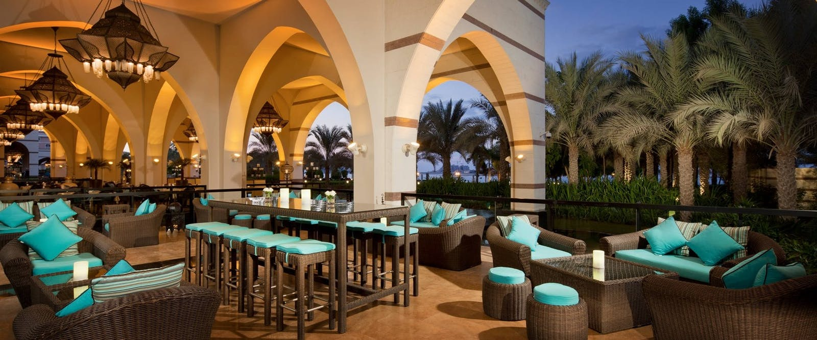 C Club Terrace at Jumeirah Zabeel Saray, Dubai