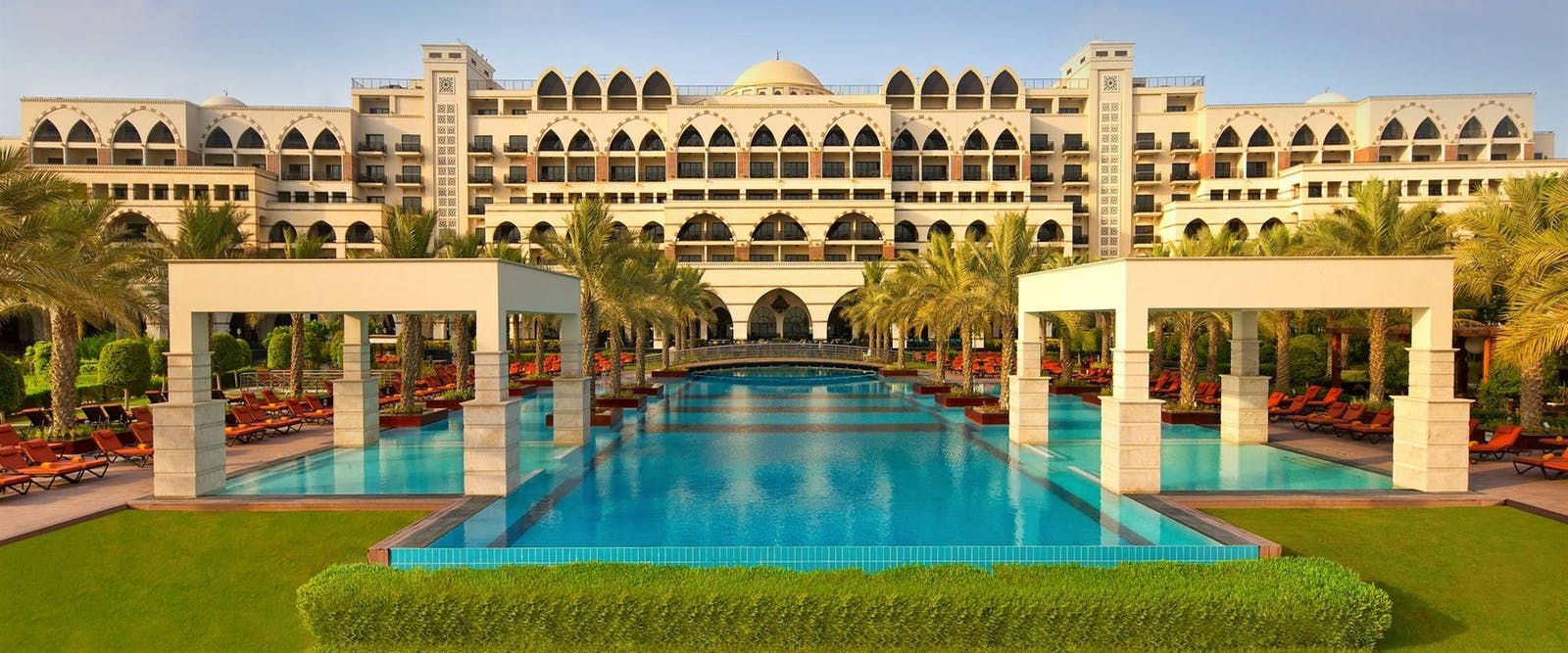 Swimming pool at Jumeirah Zabeel Saray, Dubai