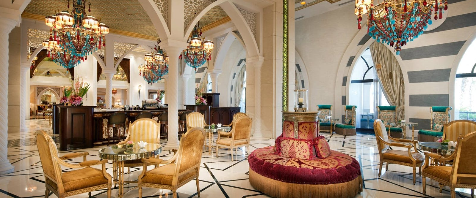 Sultan lounge at Jumeirah Zabeel Saray, Dubai