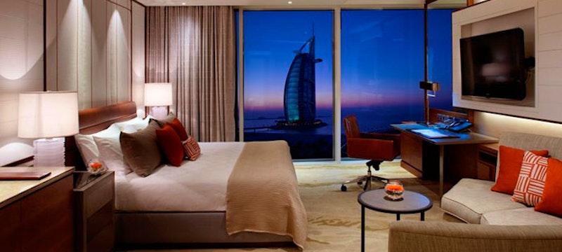 Bedroom at Jumeirah Beach Hotel, Dubai