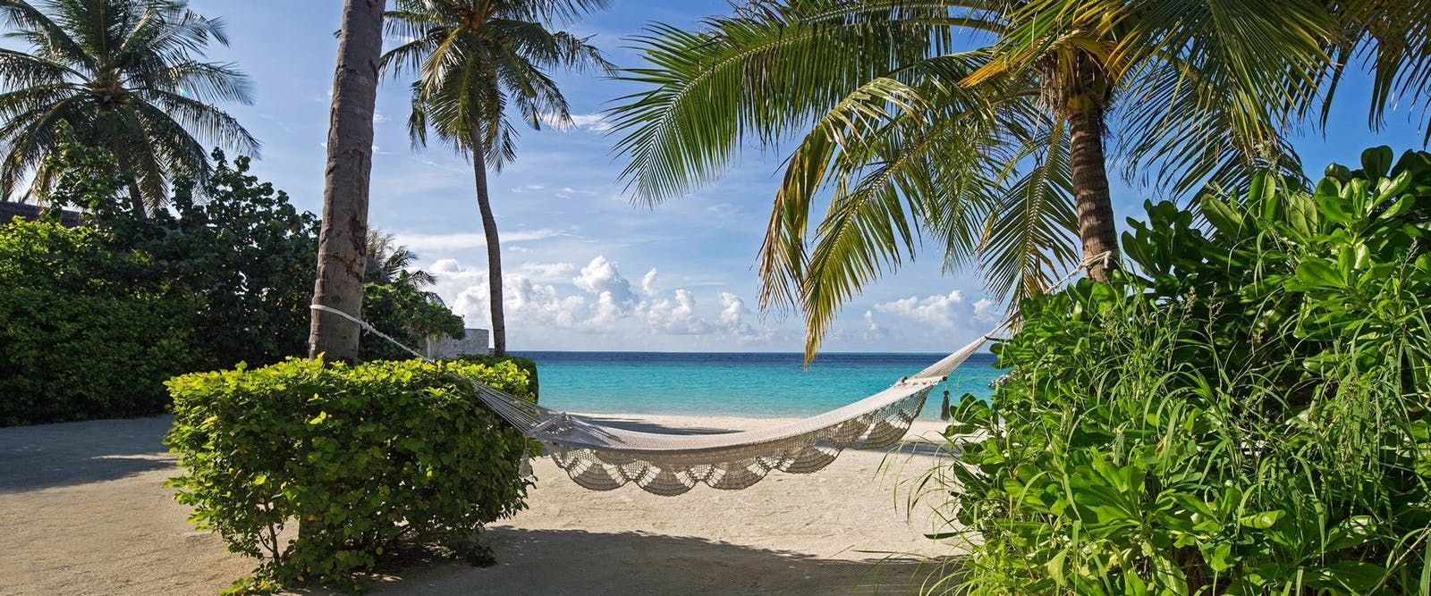 Beach Hammock at Jumeirah Vittaveli, Maldives