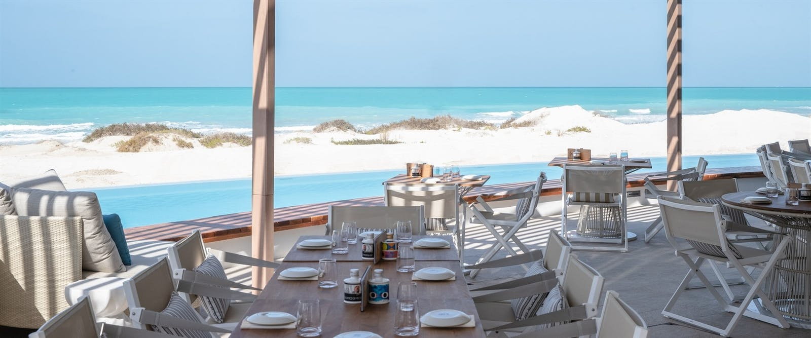 Mare Mare Restaurant at Jumeirah at Saadiyat Island Resort, Abu Dhabi