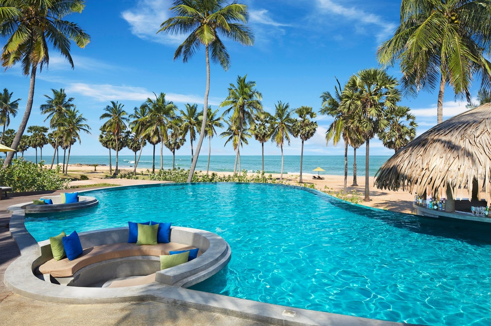 Pool Bar, Jetwing Surf, East Coast Beaches, Sri Lanka