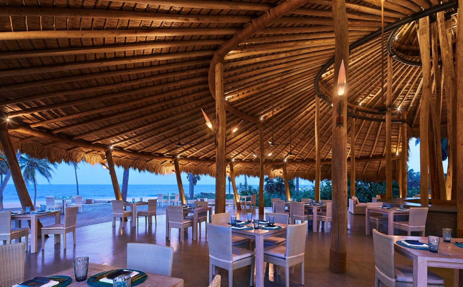 Dining Area, Jetwing Surf, East Coast Beaches, Sri Lanka