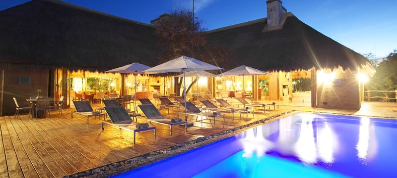 Swimming pool  at Kapama River Lodge, South Africa