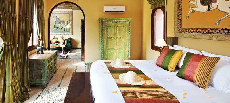 Pool View Suite at Kasbah Tamadot, Marrakech