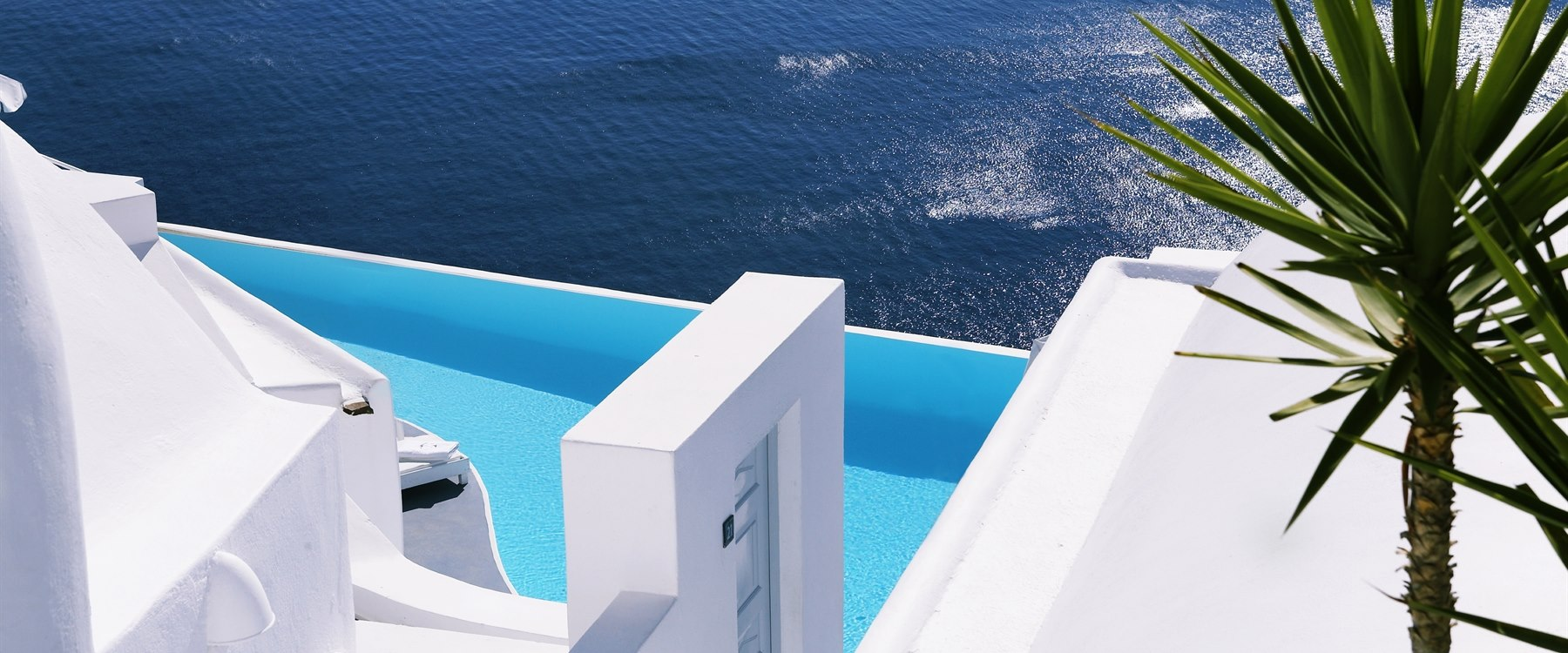 private pool villa at Katikies, Santorini