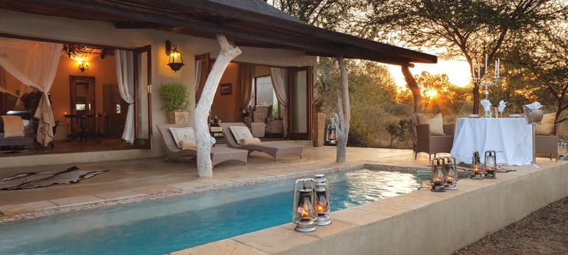 Honeymoon suite at Kings Camp Private Game Reserve, South Africa