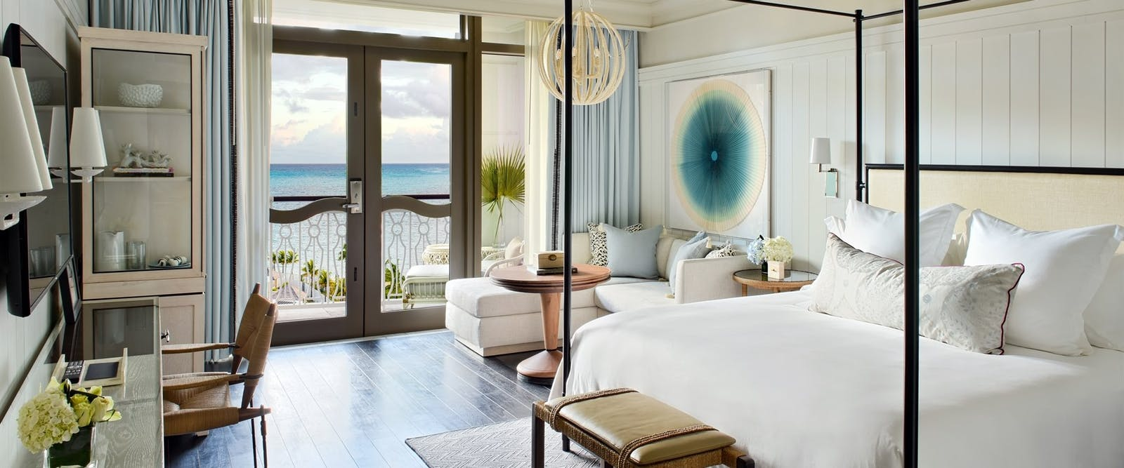 Bedroom at Rosewood Baha Mar, Bahamas, Caribbean