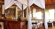 Lagoon view en-suite at Kings Pool Camp, Bostwana