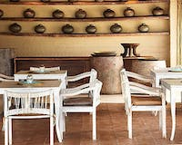 Restaurant at Kings Pool Camp, Botswana