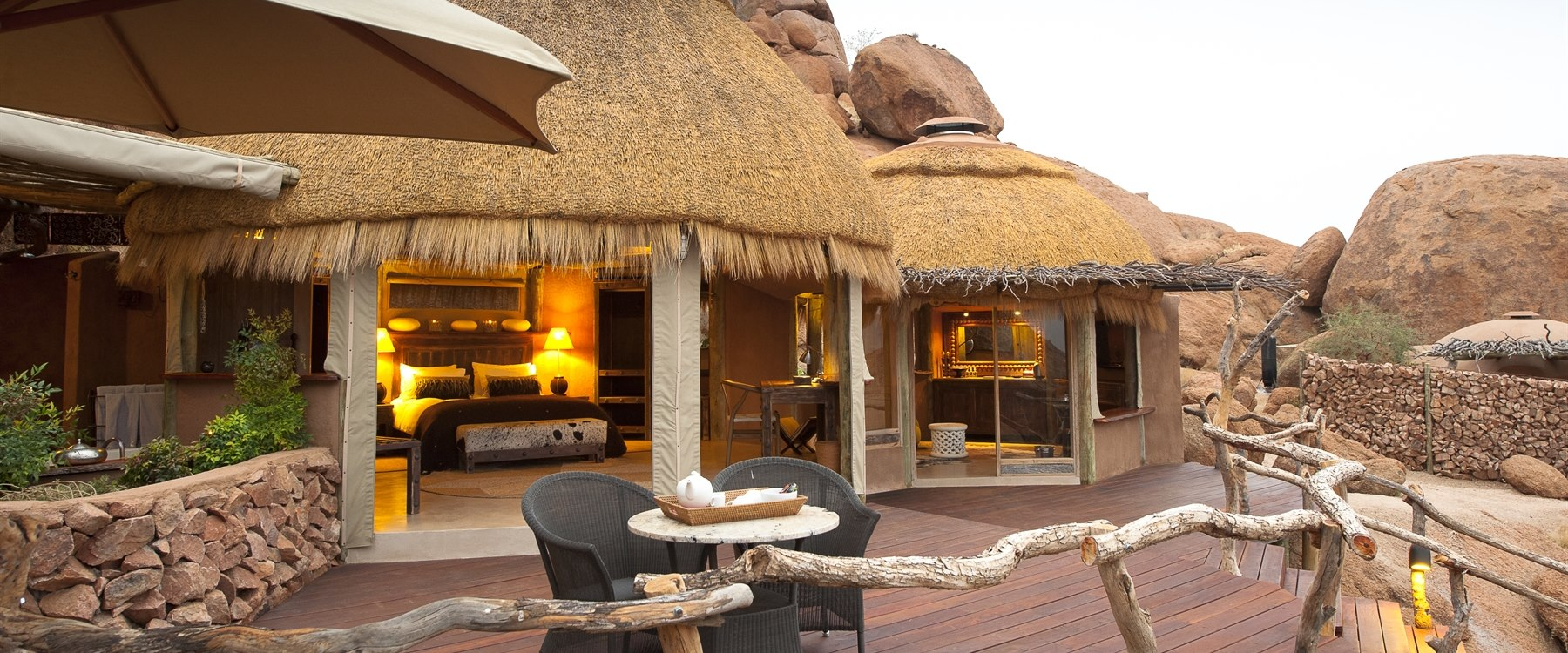 Suite exterior at Camp Kipwe