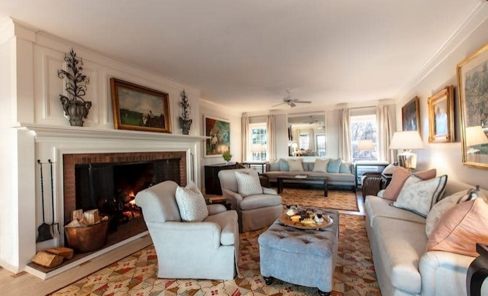 living area at the wauwinet nantucket