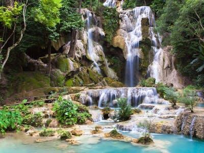 Luang Prabang - Kuang Si Waterfalls - Cooking Class