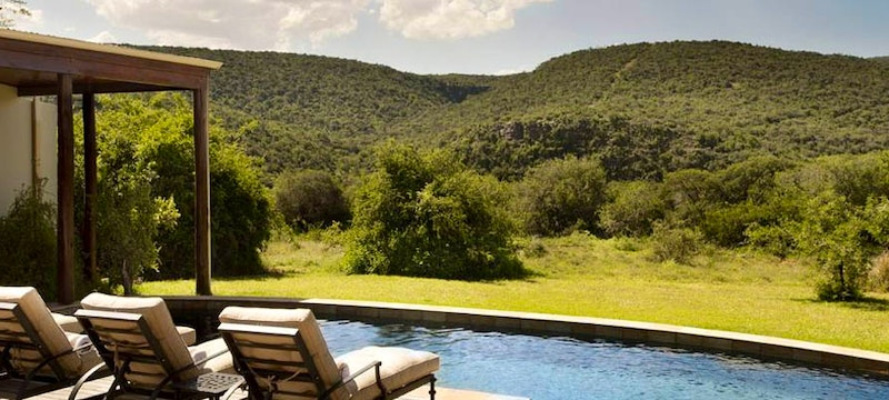 Melton pool at Kwandwe Private Game Reserve, Eastern Cape