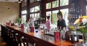 Bar area at Amanjaya Pancam Hotel, Cambodia
