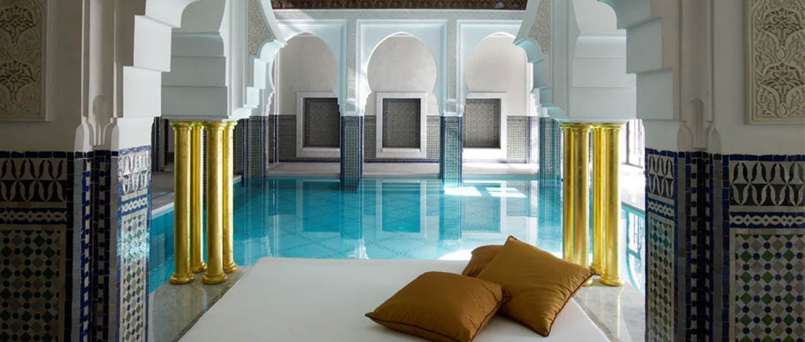 Spa Pool at La Mamounia, Marrakech, Morocco