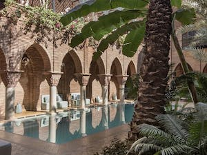 Swimming pool, La Sultana Marrakech, Morocco