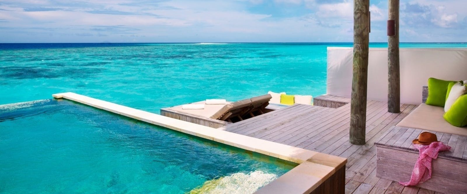 Laamu Water Villa with Pool Deck at Six Senses Laamu, Maldives, Indian Ocean