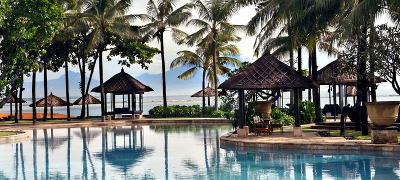 Lagoon at Conrad Bali Resort & Spa