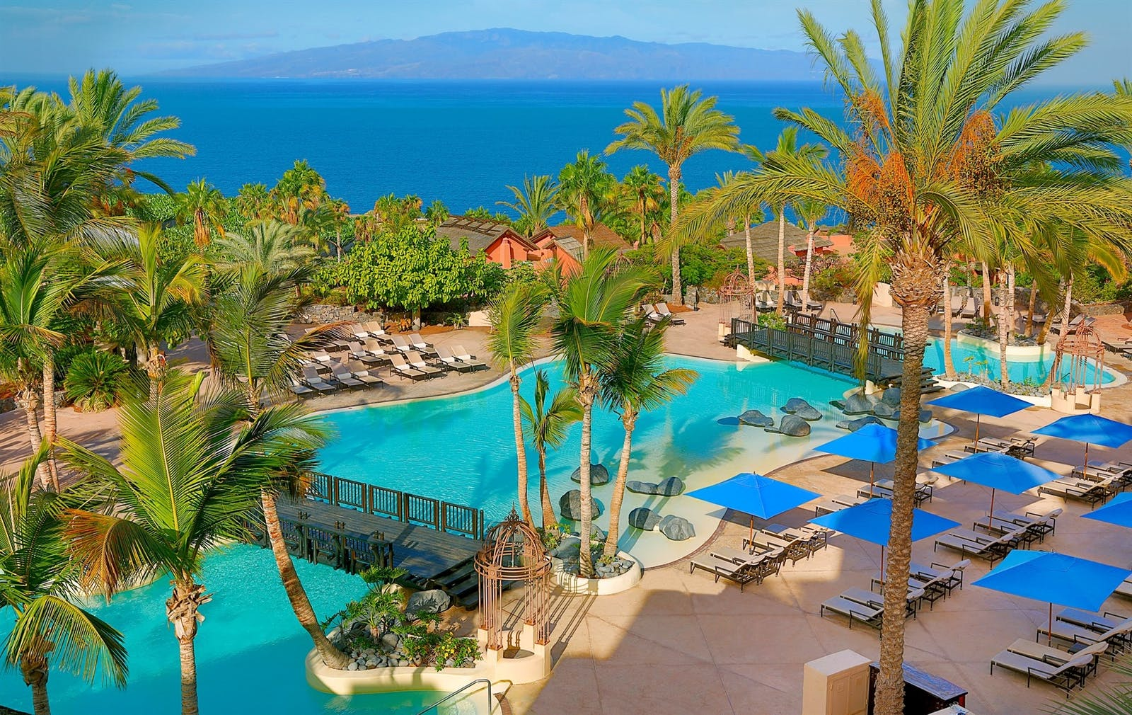 Lagoon pool, The Ritz-Carlton, Abama, Tenerife