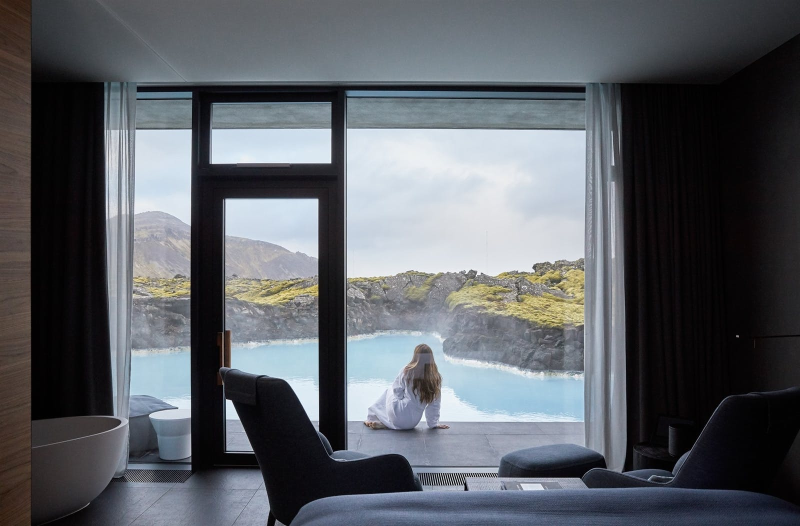 Lagoon View Junuir Suite, Retreat Hotel, Iceland